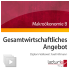 Makrokonomie B: Gesamtwirtschaftliches Angebot
